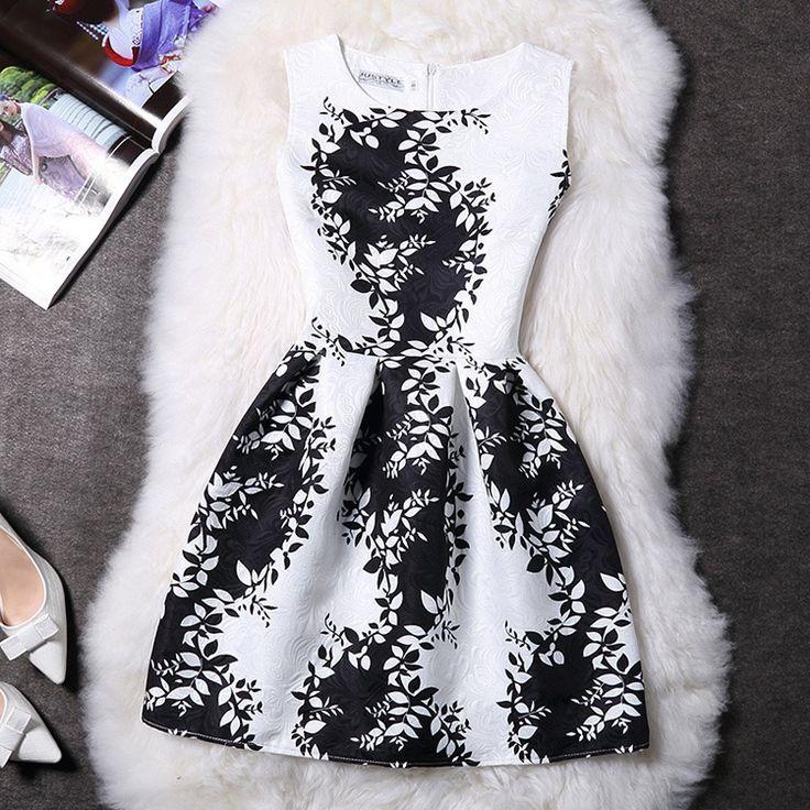 Elegant O-Neck Sleeveless Dress Item NO. CDR000406829N