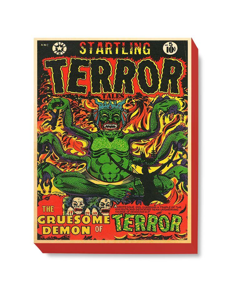 HOR 025 Horror Comic Cover - Startling Terrors