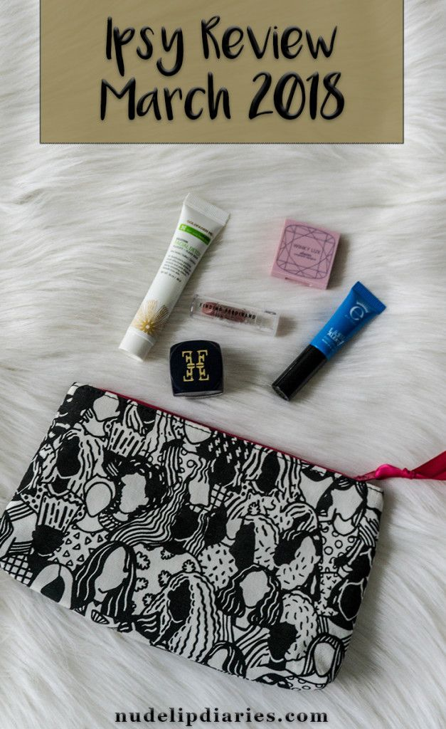 Ipsy Review - March 2018 || Ipsy is one of my all time favourite subscription services. I've been subscribed to Ipsy long before I even had an idea of how to use a majority of the products that I received. It's … || #bblogger #beautyblogger #beautyblog #ipsyreview #ipsyglambag #glambag #eyeko #furless #goldfadenmd #findingferdinand #winylux