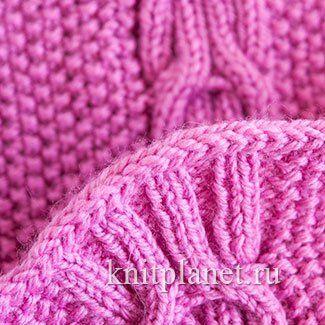 Закрытие ряда вязаным шнуром - очень аккуратный и красивый прием оформления края изделия, связанного спицами. Например, шарфа, низа и застежки кофточки или жакета и т. п