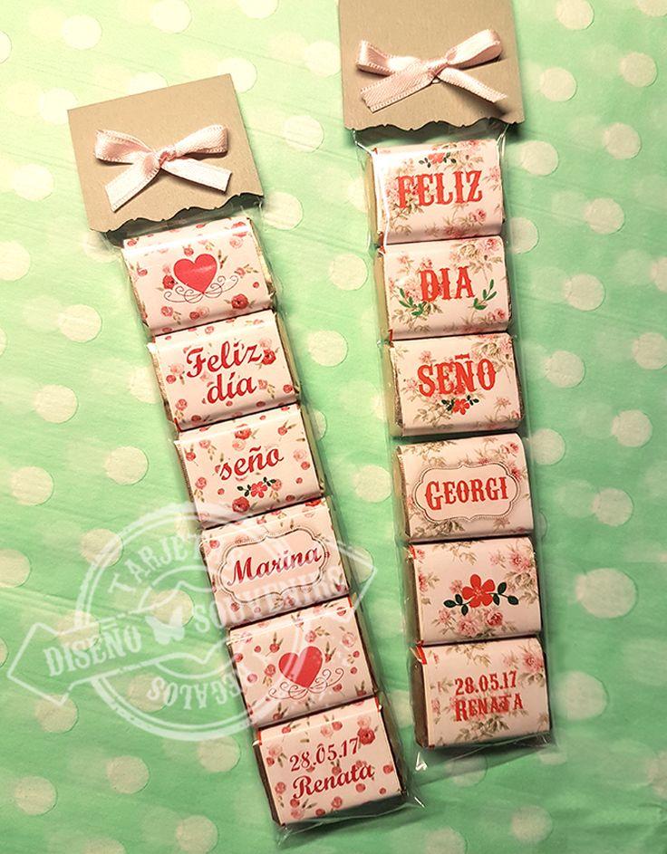 #chocolates #personalizado #souvenir #diaDelMaestro