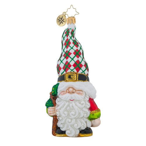 Christopher Radko Ornament - Gnome for the Holidays