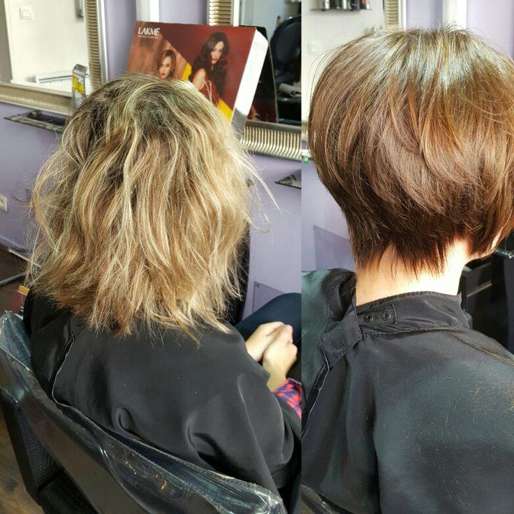 17 mejores im genes sobre avant apr s en pinterest - Balayage cheveux avant apres ...