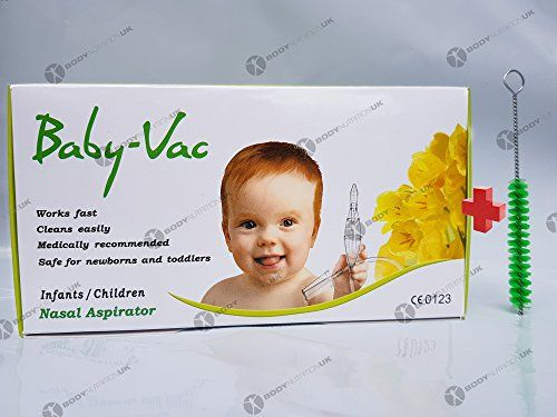 Baby Vac Nasal Aspirator - The Baby-VacTM Designed by an award-winning Hungarian scientist, the Baby-VacTM Nasal Aspirator effectively and safely removes mucus from the nasal cavity in an efficient and gentle manner. The Baby-VacTM has been clinically tested and approved. It is recommended by pediatricians and ENT speciali...