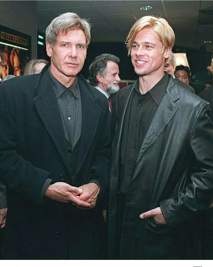 Brad Pitt Harrison Ford Brad Pitt Harrison Ford Harrison Ford Young Strange harbors film review   joker. brad pitt harrison ford brad pitt