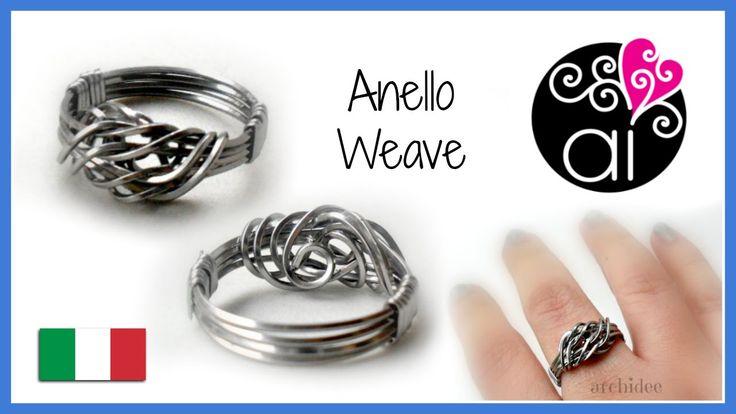 Tutorial Wire | Anello Weave in acciaio inox | in collaborazione con Per...
