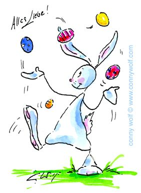 """Frohe Ostern!"" - ""Happy Easter!"""