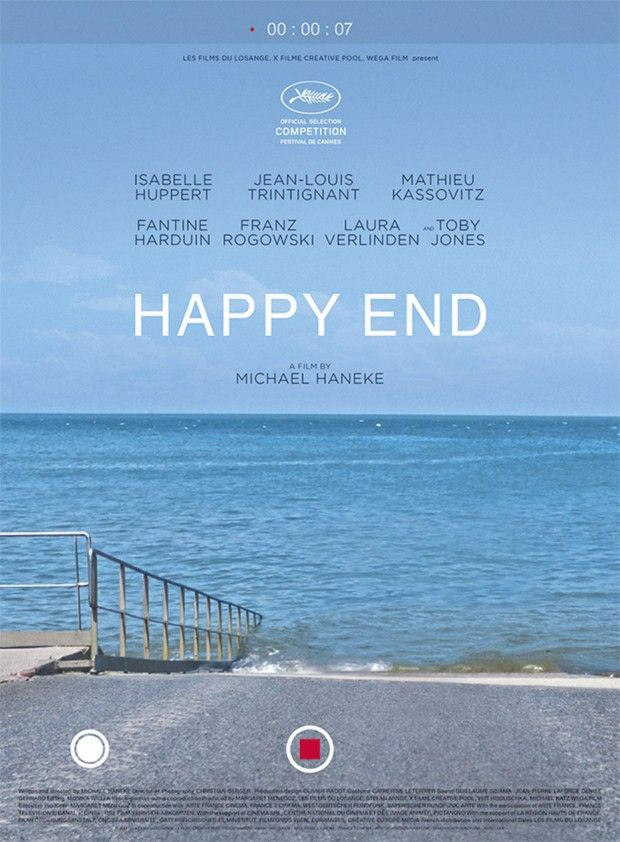 Happy End by Michael Haneke. Austria's #Oscars2018 entry.