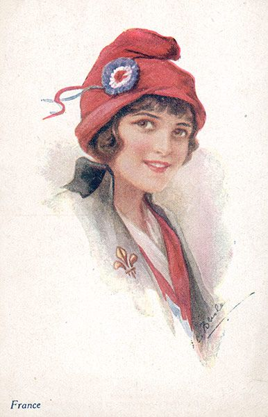 Bonnet Rouge: worn in ancient greece/ rome as a symbol of freedom. it is a soft woolen cap.