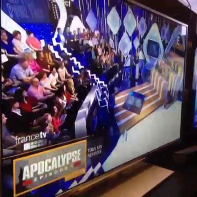 "Notification TNT HbbTV ""Apocalypse"""