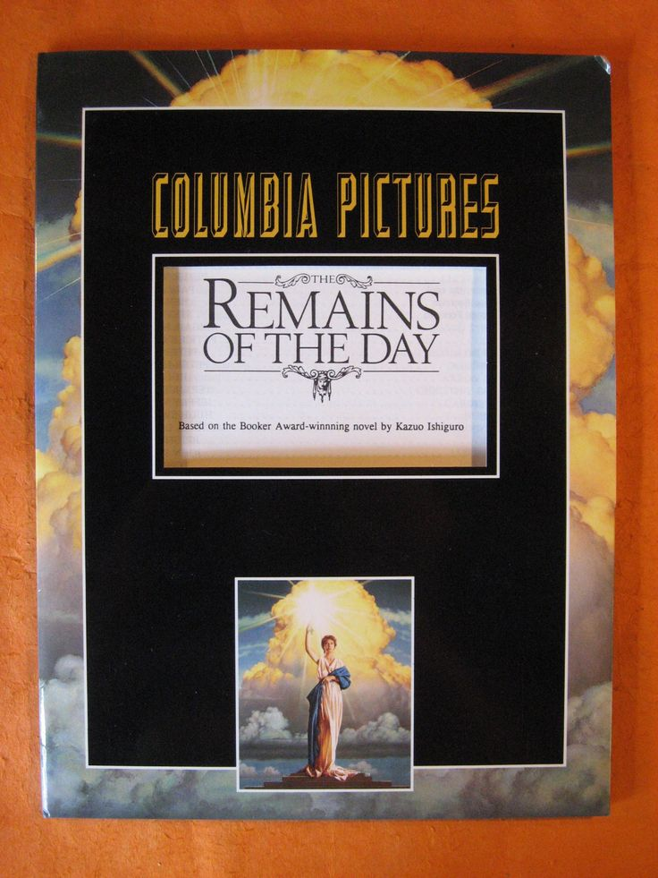 The Remains of the Day  (1992 Film) Press Packet by Pistilbooks on Etsy