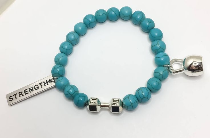 LIVE LIFT, Fitness Bracelet, Fitness Jewelry, Fitness Gifts, Beaded Bracelet, Gift Idea, Weightlifting, Bodybuilding, Gym Jewelry, Crossfit, by MissFitBoutiqueCA on Etsy https://www.etsy.com/ca/listing/534315432/live-lift-fitness-bracelet-fitness