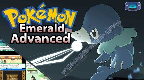 http://www.pokemoner.com/2017/09/pokemon-emerald-advanced.html Pokemon Emerald Advanced  Name: Pokemon Emerald Advanced Remake From: Pokemon Emerald Remake by: Z-nogyroP Description: This hack is somewhat similar to FireRed Advanced in that it's a dex-replacement hack with a brand new Hoenn Pokédex of 250 Pokémon from generations 1-7. Some favourites from FireRed Advanced make their return like Fur Coat Furret Fairy-type Pixilate Delcatty and Grass/Fire Drought Sunflora while others are new…