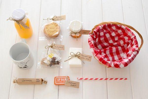 DIY: Get well basket - Cesta para resfriados