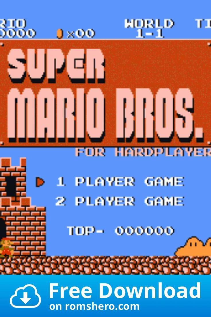 Download Super Mario Bros For Hardplayers Smb1 Hack Nintendo Nes Rom In 2020 Mario Bros Super Mario Bros Nintendo