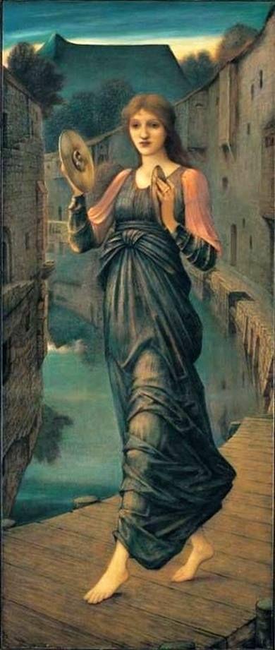 Edward Burne-Jones - PreRaphaelite - 'Aurora