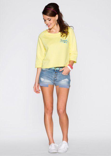 Shorts med hög midja, RAINBOW