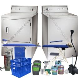 paket mesin laundry