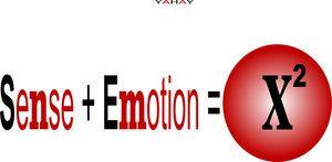 T-Shirt,Mousepad, Postkarte ,Sense,Emotion,X²,yahay,Geschenkartikel