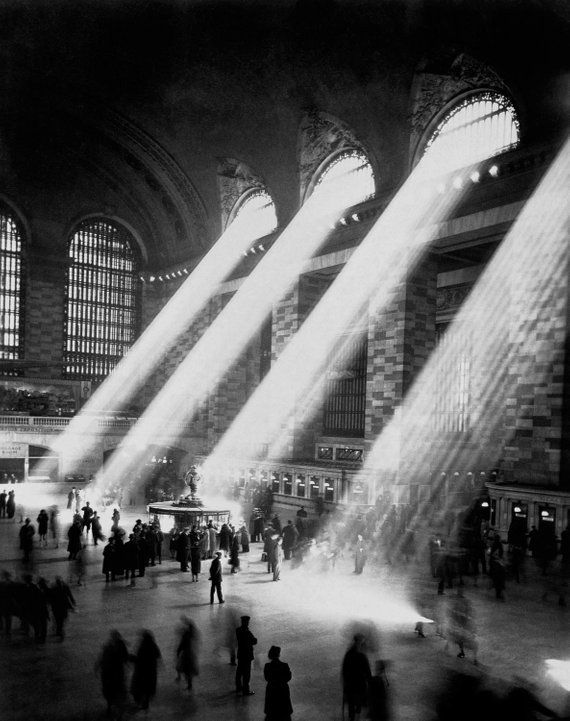 Grand Central Station Vintage Photo Print New York Nyc Ny