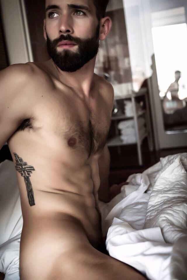 image Naked sexy men and penis armpit hair gay