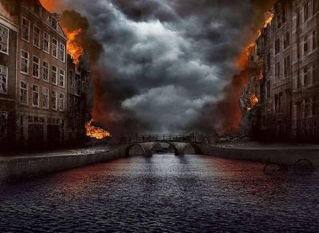 Kıyamet sonrası dünya Amsterdam