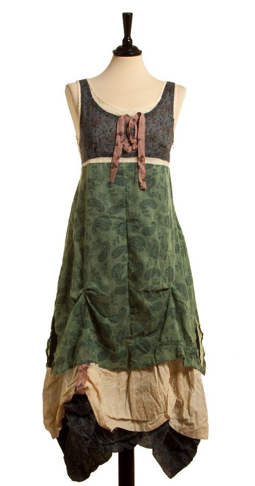 Kleid Durero - Azul von Ian Mosh
