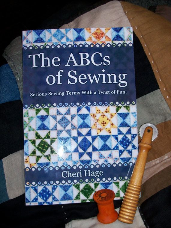 The ABCs of Sewing Book Sewing Dictionary by OodlesOfWhimsy, $12.99
