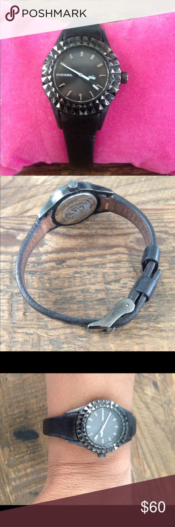 Diesel Watch Great condition, works like a charm! Diesel Accessories Watches
