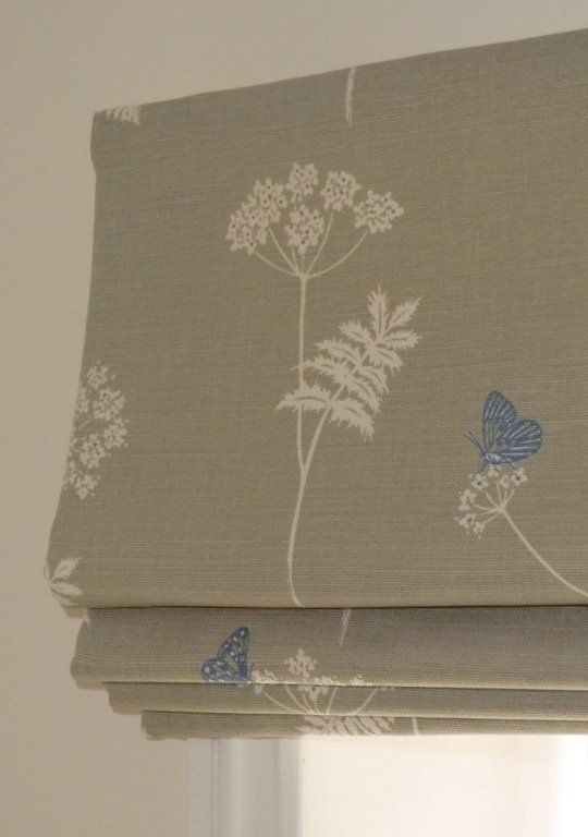 roman shades for windows   Roman blinds are fitted to the wall or recess using a covered wooden ...
