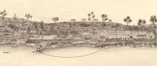 The Dirt On The Rocks: The First Hospital Sydney's First Hospital and the 'Ikea' flat pack hospital brought over on the 2nd Fleet.