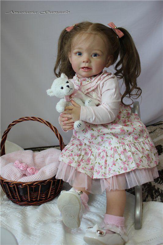 Маленькая Леди! Кукла реборн Анастасии Гангало / Куклы Реборн Беби - фото, изготовление своими руками. Reborn Baby doll - оцените мастерство / Бэйбики. Куклы фото. Одежда для кукол