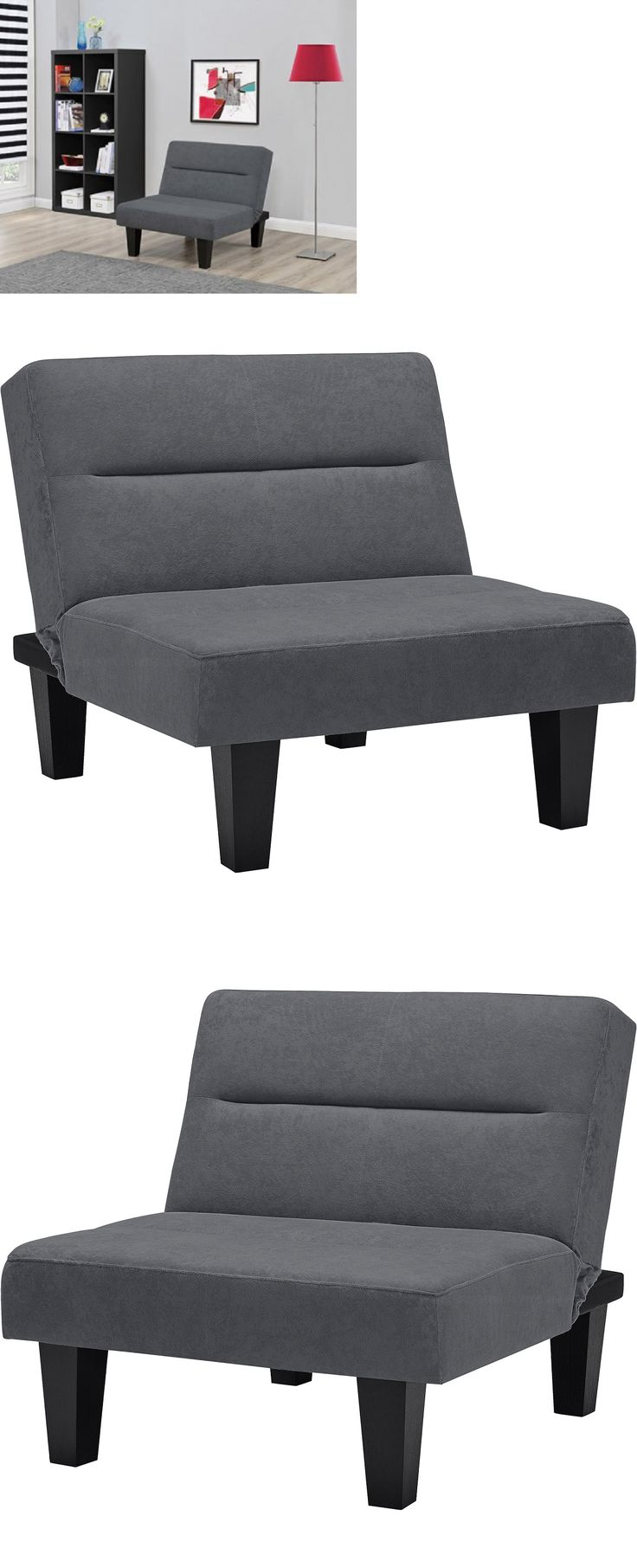 Burlap Chair Covers Ebay - Futons frames and covers 131579 futon chair flip cushion multi position microfiber gray living room