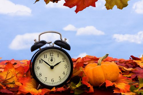 Daylight Savings Time ends today! Did you have an extra hour of sleep?