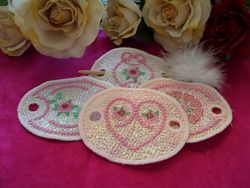 CE278 - Mylar Ponytail Covers Add a bling to a ponytail with these great make ponytail covers!!! Ponytail covers are a great hit at craft  markets, so stitch out a batch!!! http://tinyurl.com/jjev6uu