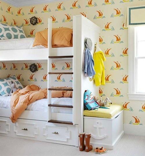 дом,пляжный дом,яркие интерьеры,цвет в интерьере,побережье,водоем