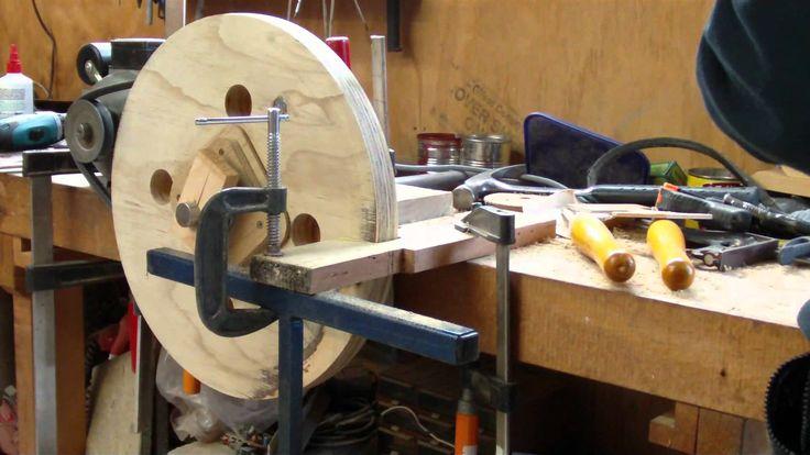 Turning the Bandsaw Wheels.avi