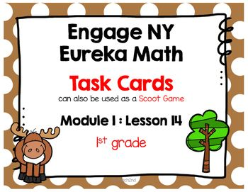 Engage NY / Eureka Math - Math Centers or Task Cards - Scoot Game12 Task Cards -Colored Set and White Background Set (to save on ink).This product is meant to be a companion to Engage NY/ Eureka Math. I am not affiliated with Engage NY/ Eureka Math.Use these to review your lesson or give extra practice!Task Cards for Early FinishersMath Center to review lessonWhole group Scoot gameIntervention to review skillsCheck below to see more Engage NY/ Eureka Math for 1st grade.Module 1 1st grade