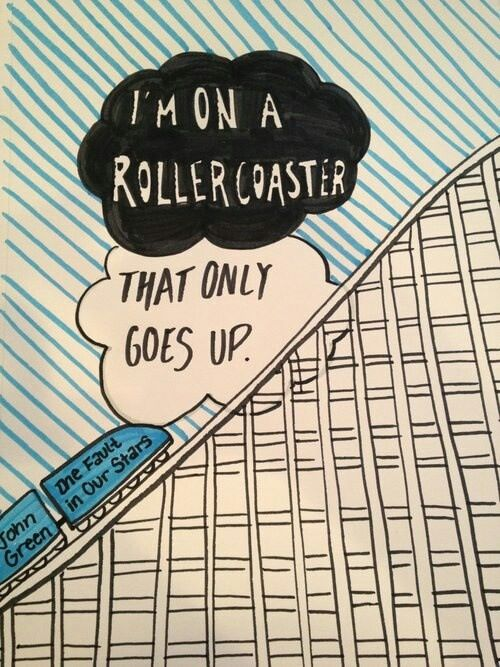 The Fault In Our Stars - like a rollercoaster ✋✋✋✋✋