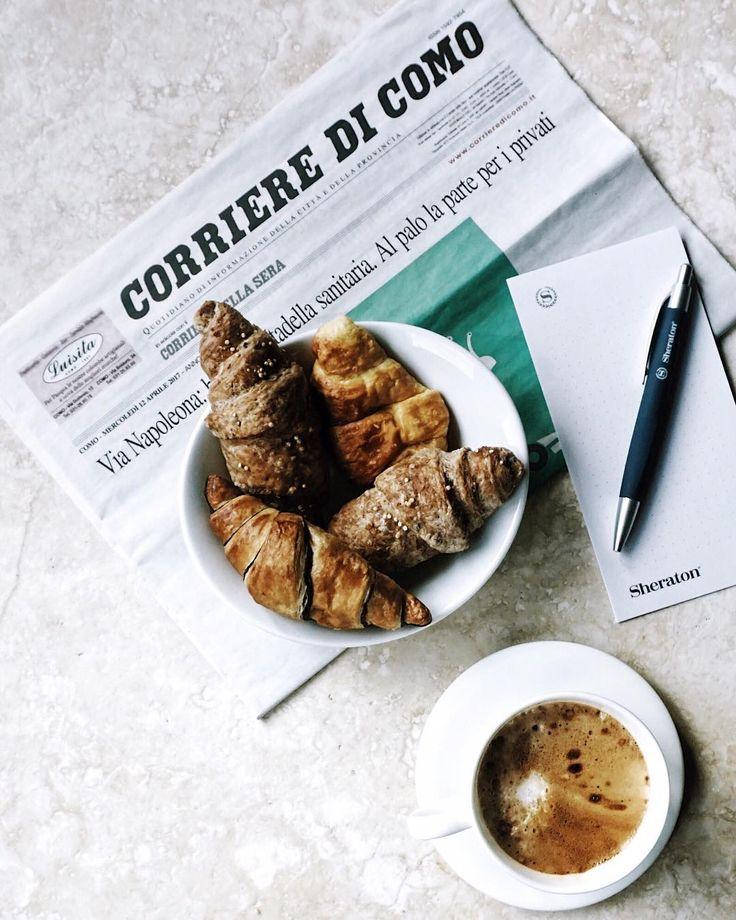 1. Claudia e la storia d'amore infinita con i cornetti.  2. Claudia e la valigia in attesa di essere fatta, l'armadio buttato sul letto e un unico pensiero: mi serve della caffeina.  3. Cornetti e cappuccino postati sempre ad orari improbabili.  Scegliete voi la caption di oggi.  #fellowmag  #lifeandthyme  #simpleandbeyond #folkgood #ifoodit #jj_indetail  #tv_depthoffield  #rsa_vsco #dlssquad