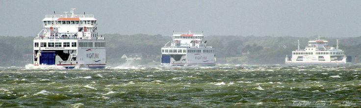 https://flic.kr/p/r7HgZB | Wightlink ferrys 3 in a row