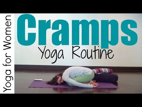 15 Minute Yoga for During Your Period | Yoga for Women - YouTube