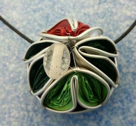 Collana creata con le cialde del caffè ~ Mara1000idee