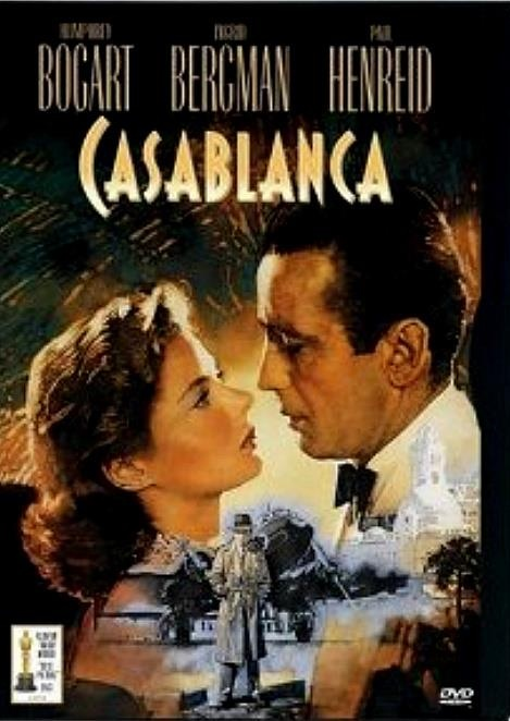 """Of all the gin joints in all the towns in all the world, she walks into mine"", Rick Blaine (Humphrey Bogart) Casablanca , (1942)"