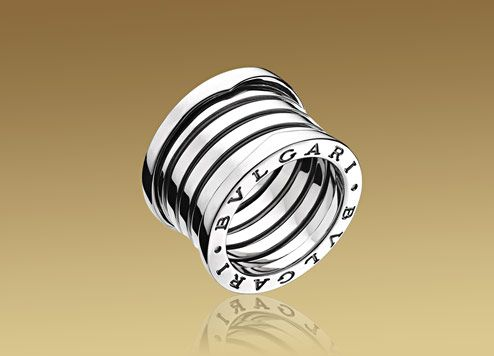Bulgari B.ZERO1 ring in 18kt white gold. AN191028.           Love this ring!!!!!! Please get on my finger!!!!! ;-)