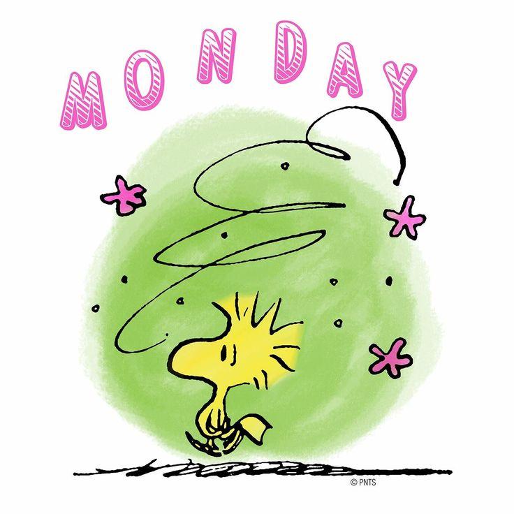Oh. It's Monday again. lv peanuts Pinterest Mondays