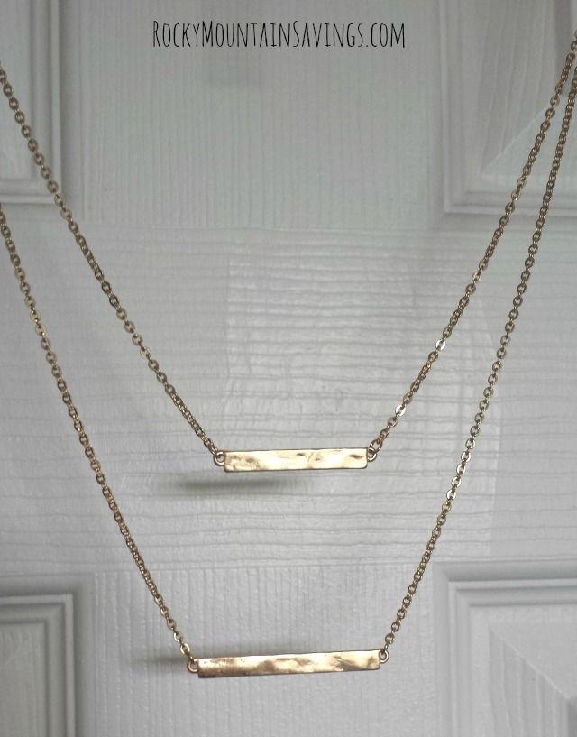 Bay to Baubles Kalea Double Bar Necklace – Stitch Fix #4