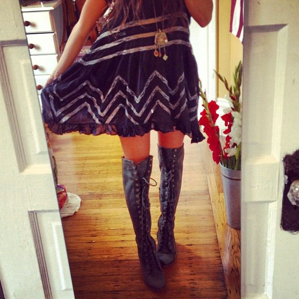 the LA native | free people | slip | joe boots | jeffrey campbell | lace up boots | tall lace up boots