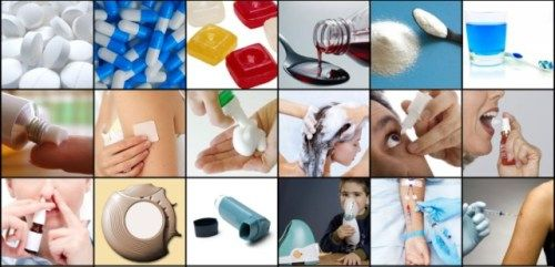 Different dosage forms of drugs!