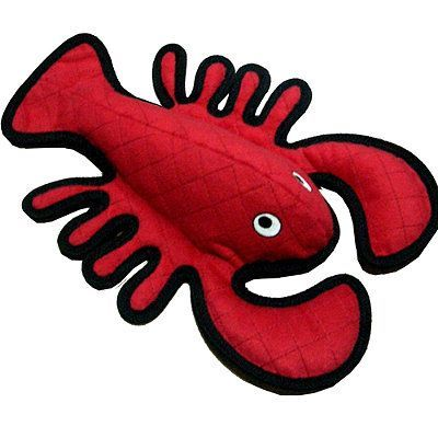 We sell this and various other Tuffy Toys at Camp Bow Wow-Pittsburgh South. Stop in and check out our selection.  Tuffy Lobster Dog Toy